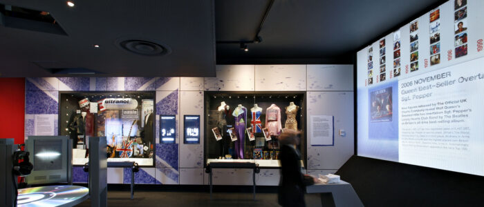 o2 british music experience exhibition